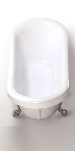 Bainoire il t baignoire ovale baignoire retro acrylique nouveau vintage ebay - Baignoire ilot belle epoque ...