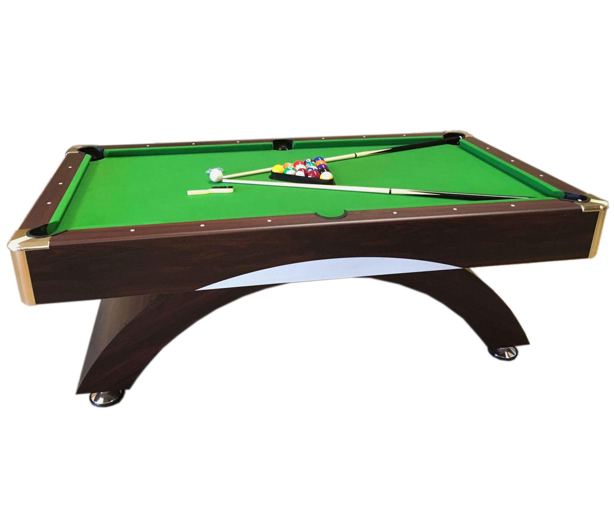 Sala Da Biliardo In Inglese : Tavolo da biliardo carambola misura 220 x 110 cm snooker verde 8