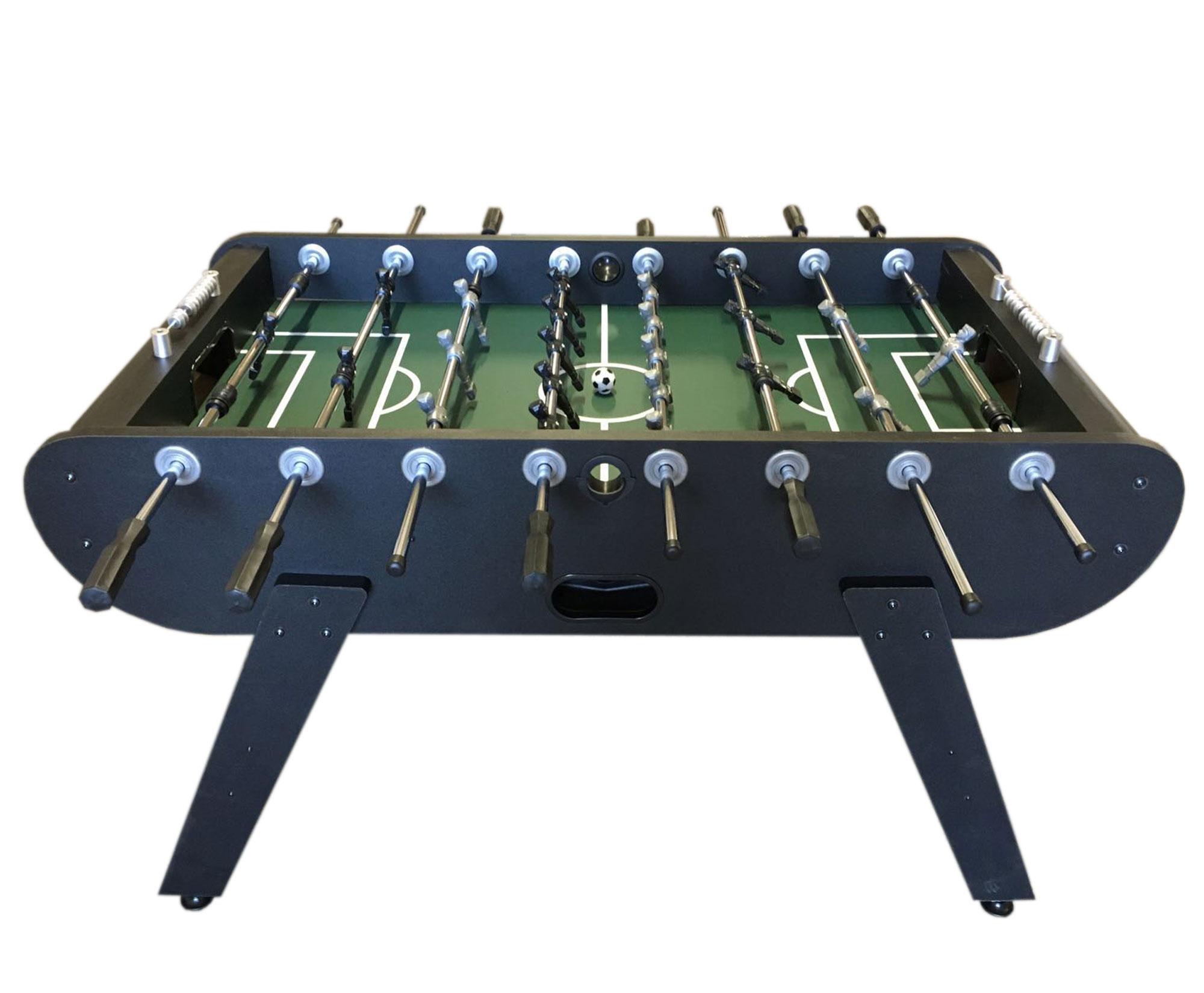 Calcio balilla calcetto biliardino robusto soccer table for Prezzo calcetto balilla