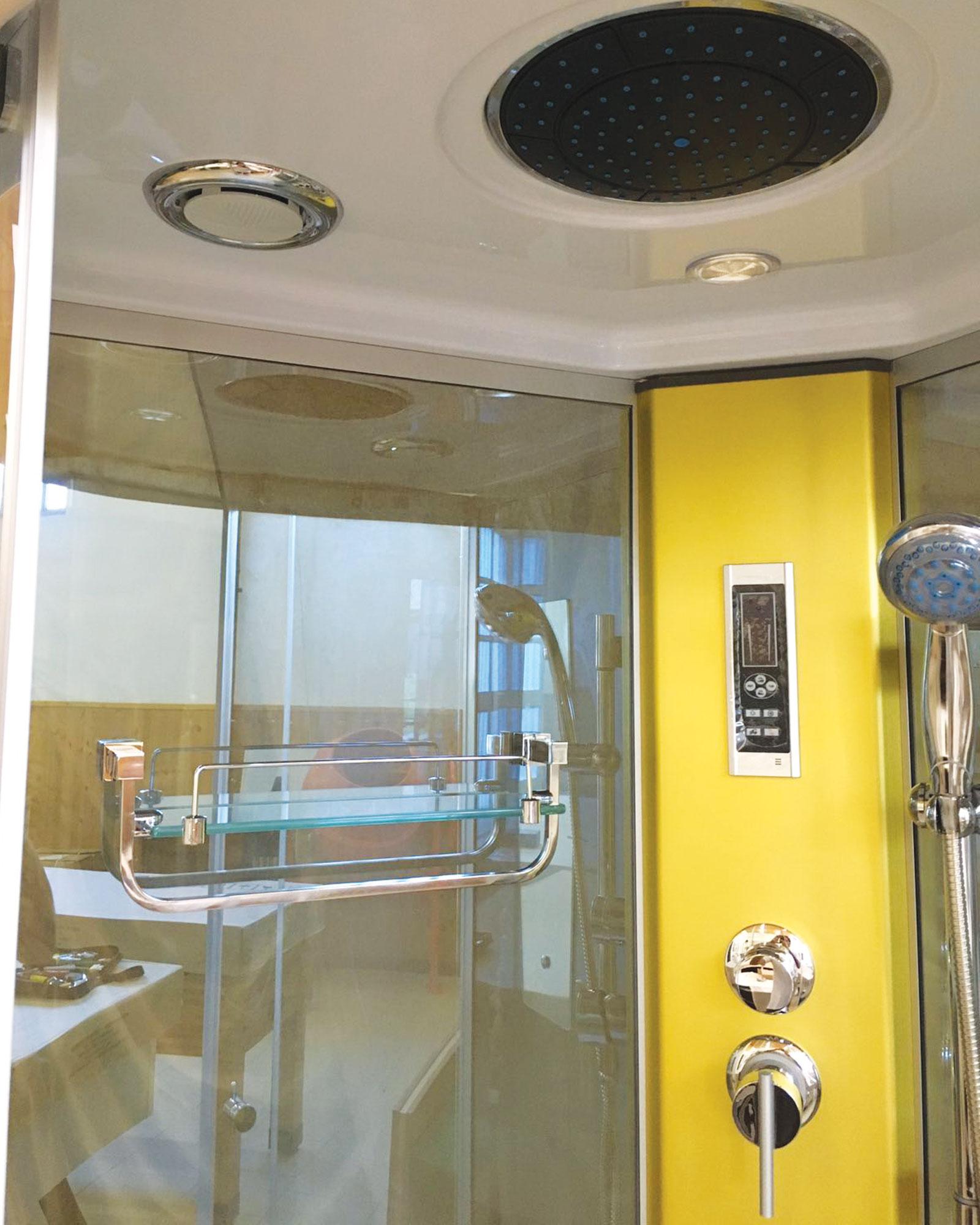 Box doccia idromassaggio 100 x 100 arredobagno cabina doccia hollywood ebay - Doccia all italiana ...