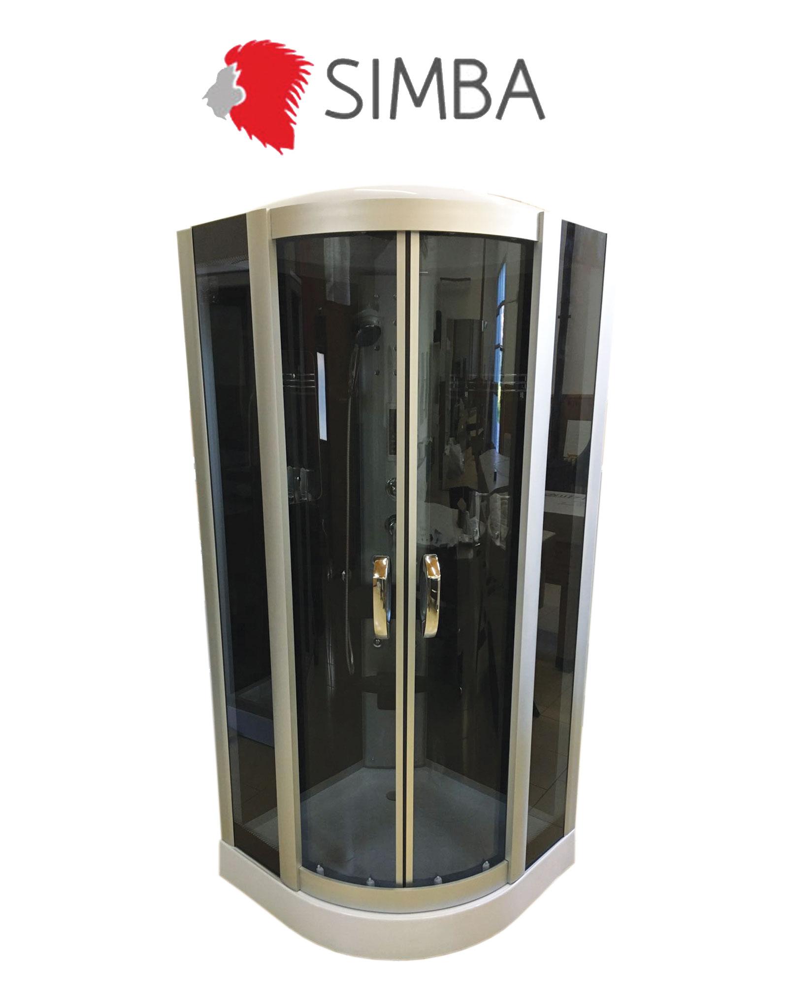 Accessori Per Doccia Idromassaggio.Box Doccia Idromassaggio 90 X 90 Arredobagno Cabina Doccia Full