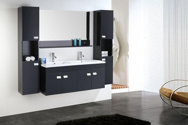 meuble salle de bain double vasque luxe beau meuble. Black Bedroom Furniture Sets. Home Design Ideas
