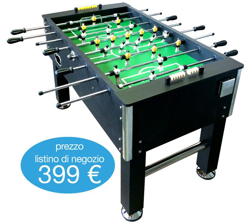 Calcio balilla calcetto biliardino soccer table for Prezzo calcetto balilla