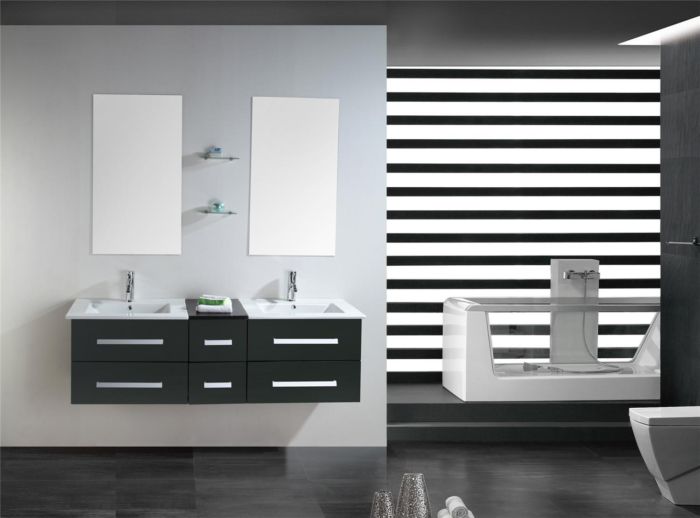 Muebles para ba o para cuarto de ba o con espejo ba o 150 - Muebles de cuarto de bano ...