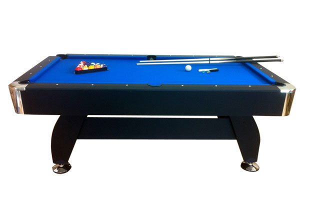 7 ft blue pool table game billiards table playing cloth - Tavolo carambola ...